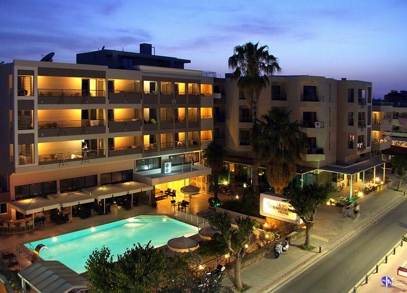 SAINT CONSTANTIN HOTEL 3*** IN  45, Kanari str. (Kos Town)