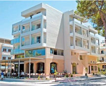 HOTEL TRITON 3*** IN  4, Vas.Georgiou str. (Kos Town)