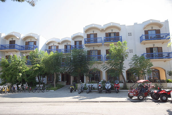 Image of Theodorou Beach Hotel, located in Kos Town. CLICK TO ENLARGE