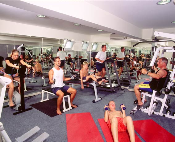 Fitness Center of Pelagos Hotel. CLICK TO ENLARGE