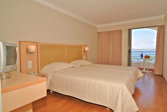 Image of double room of Triton Hotel. CLICK TO ENLARGE
