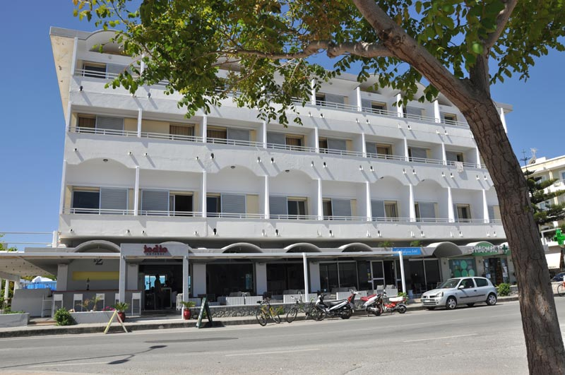 Image of Hotel Zefyros, Kos island. CLICK TO ENLARGE
