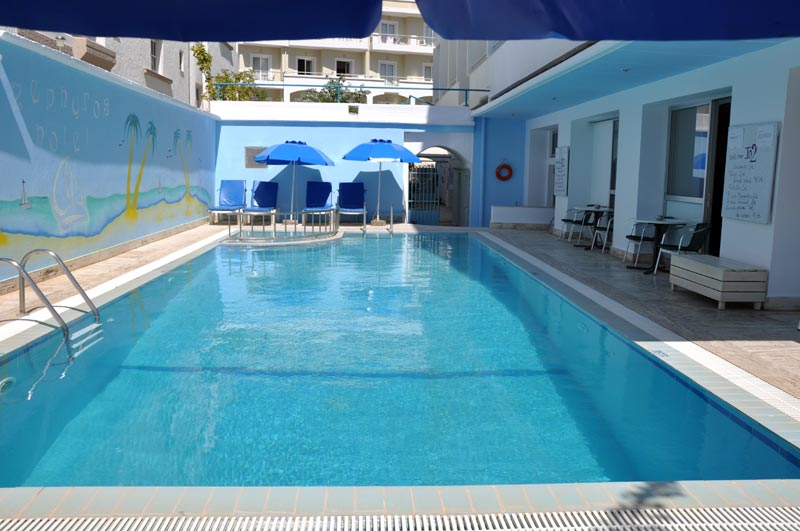 Another photo of Zefyros hotel, Kos town. CLICK TO ENLARGE